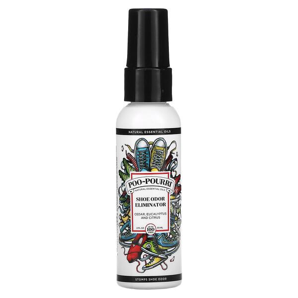 Shoe Odor Eliminator, Cedar, Eucalyptus and Citrus, 2 fl oz (59 ml)