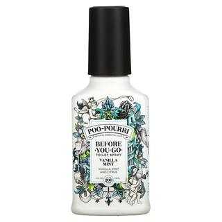 Poo-Pourri, Before-You-Go Toilet Spray, Vanilla Mint, 4 fl oz (118 ml)
