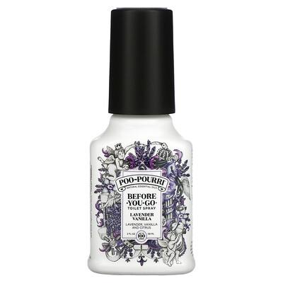 Poo-Pourri Before-You-Go Toilet Spray, Lavender Vanilla, 2 fl oz (59 ml)