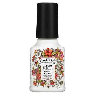 Poo-Pourri Before-You-Go Toilet Spray, Tropical Hibiscus, 2 fl oz (59 ml)