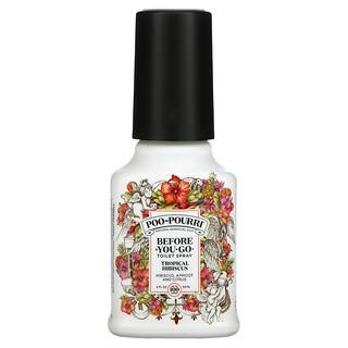 Poo-Pourri, Before-You-Go Toilet Spray, Tropical Hibiscus, 2 fl oz (59 ml)