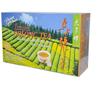 Prince of Peace, Premium Oolong Tea, 100 Tea Bags, (2 g) Each