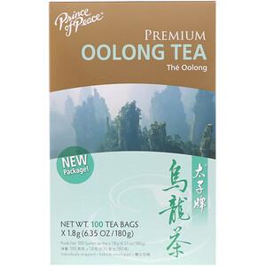 Принс оф пис, Premium Oolong Tea, 100 Individually Wrapped Tea Bags, (1.8 g) Each отзывы покупателей