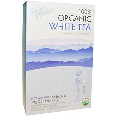 Prince of Peace, 100% Organic White Tea, 100 Sachets, 1.8 g Each