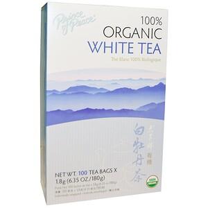Принс оф пис, 100% Organic White Tea, 100 Sachets, 1.8 g Each отзывы