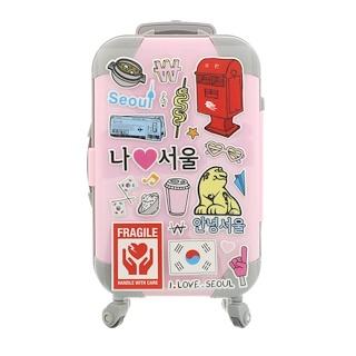 Peripera, Fashion People's Carrier, Girlish Pink, 1 Kit