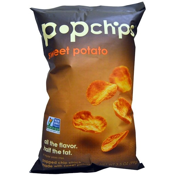 Popchips, Sweet Potato Chips, 3.5 oz (99 g) (Discontinued Item)