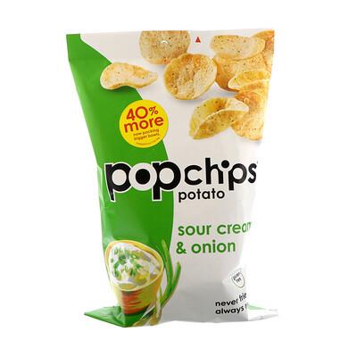 Картофельный чипсы, сметана и лук, 5 унций (142 г)