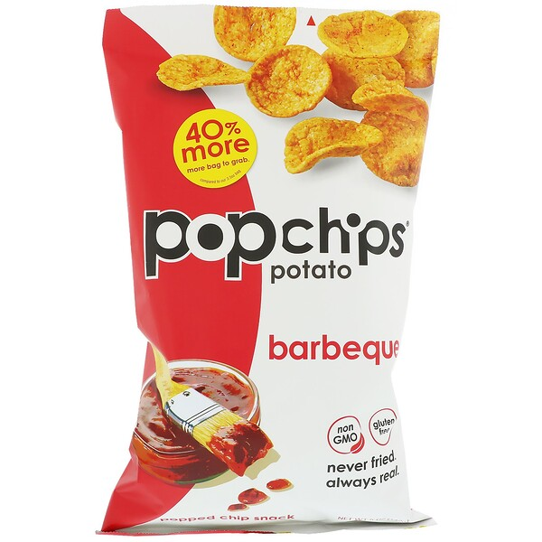 Popchips, Potato Chips, Barbeque, 5 oz (142 g)