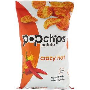 Попчипс, Potato Chips, Crazy Hot, 5 oz (142 g) отзывы
