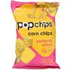 Popchips, رقائق الذرة المملحة جيدًا، 5 أونصة (142 جم)