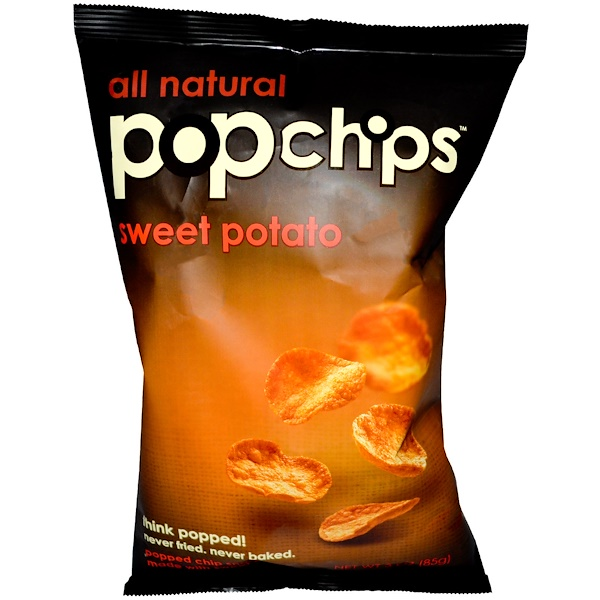 Popchips, Sweet Potato, 3 oz (85 g) (Discontinued Item)