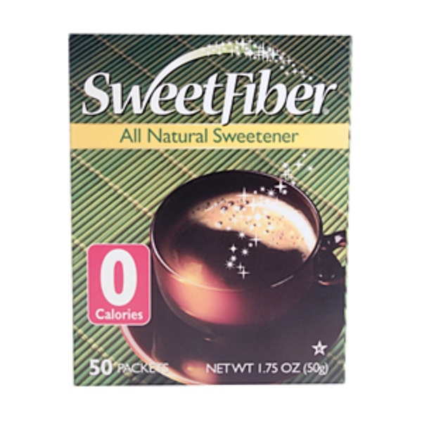 Purpose Foods, Sweet Fiber, 50 Packets, 1.75 oz (50 g) (Discontinued Item)