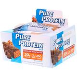 Отзывы о Pure Protein, Батончик, шоколадное арахисовое масло, 6 батончиков, 50 г (1,76 унций) каждый
