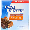 Pure Protein, Chocolate Peanut Butter Bar, 12 Bars, 1.76 oz (50 g) Each