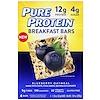 Pure Protein, ブレックファーストバー、ブルーベリーオートミール、4本、各1.76オンス (50 g)