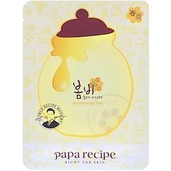 Papa Recipe, ボムビーハニー・マスクパック、パック10枚、一枚25g