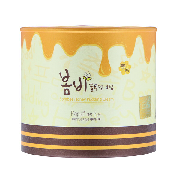 Papa Recipe, Bombee Honey Pudding Cream, 135 ml