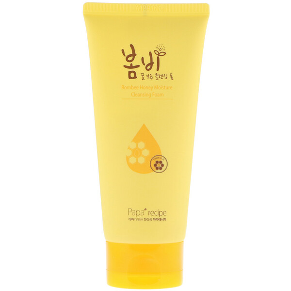 Papa Recipe, Bombee Honey Moisture Cleansing Foam, 120 ml