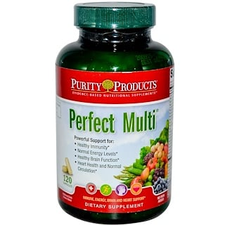 Purity Products, Витамины Perfect Multi, 120 капсул