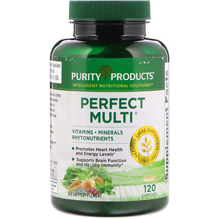 Purity Products, الكمال متعدد، 120 كبسولة