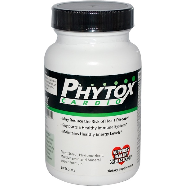 Purity Products, Phytox Cardio, 60 Tablets (Discontinued Item)