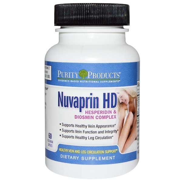 Purity Products, Nuvaprin HD, 60 Veggie Caps (Discontinued Item)