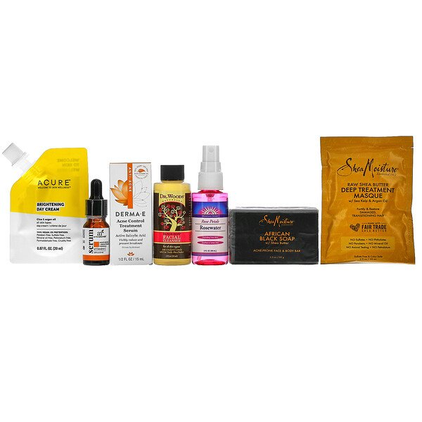 Promotional Products, iHerb Beauty Bag, 7 Piece Set