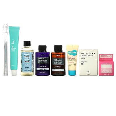Promotional Products Bath Essentials Beauty Bag, 8 Piece Kit