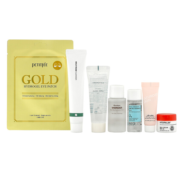 K-Beauty Bag, V3, 7 Piece Set