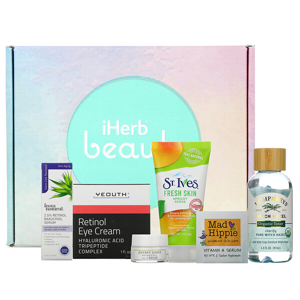 Promotional Products, Skincare Favorites Beauty Box, 6 Piece Kit
