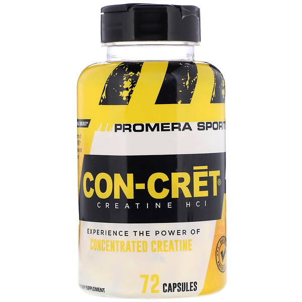 Promera Sports, Con-Cret Creatine HCl, 72 Capsules (Discontinued Item)