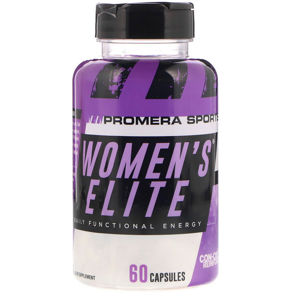 Promera Sports, Women's Elite, energía funcional diaria, 60 cápsulas (Discontinued Item)