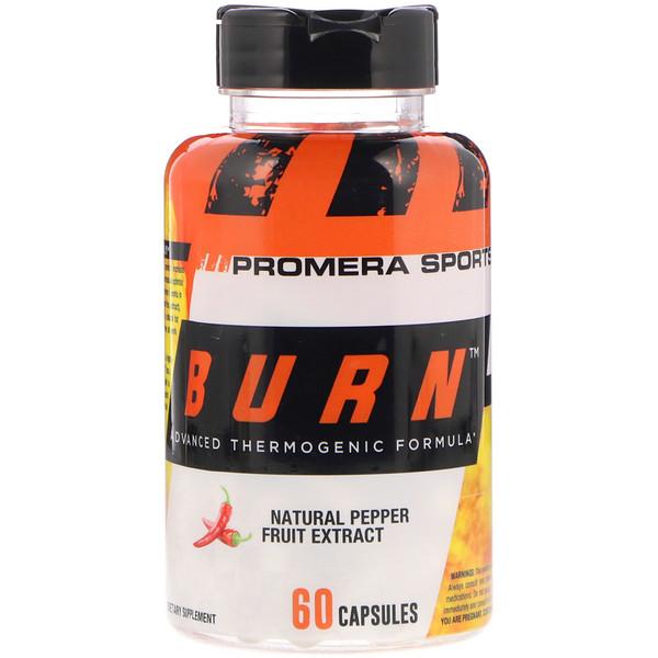 Promera Sports, Brennen, fortschrittliche wärme-erzeugende Formel, 60 Kapseln (Discontinued Item)