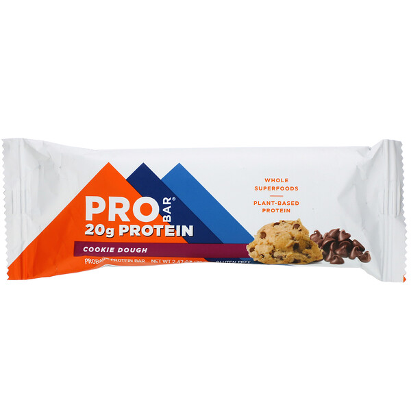 ProBar, Protein Bar, Cookie Dough, 2.47 oz (70 g) (Discontinued Item)