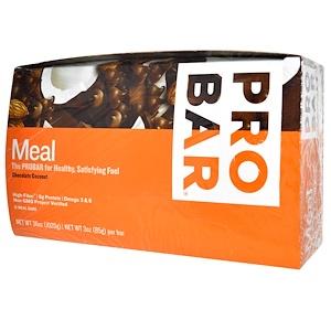 Пробар, Meal Bar, Chocolate Coconut, 12 Bars, 3 oz (85 g) Per Bar отзывы