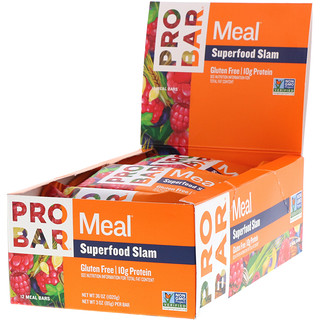 ProBar, Meal Bar, Superfood Slam, 12 Bars, 3 oz (85 g) Per Bar