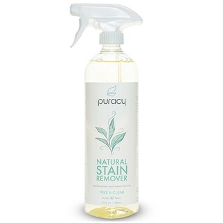 Puracy, Natural Stain Remover, Free & Clear, 25 fl oz (739 ml)