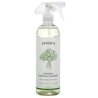 Puracy, 天然表面清洁剂,绿茶和来檬,25 液量盎司(739 毫升)