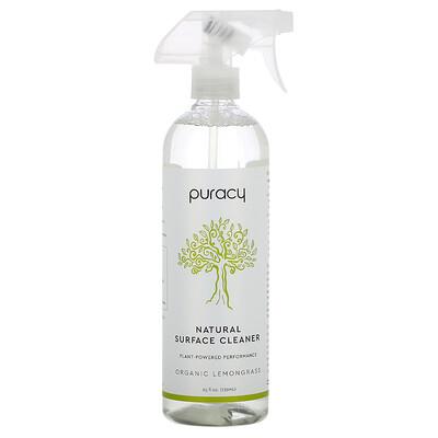 Puracy Natural Surface Cleaner, Organic Lemongrass, 25 fl oz (739 ml)