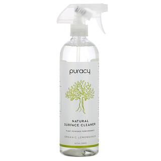 Puracy, 天然表面清洁剂,有机柠檬草,25 液量盎司(739 毫升)