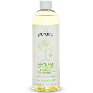 Puracy, Natural Multi-Surface Cleaner Concentrate, Green Tea & Lime, 16 fl oz (473 ml)
