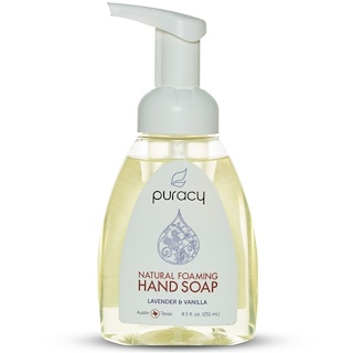 Puracy, Natural Foaming Hand Soap, Lavender & Vanilla, 8.5 fl oz (251 ml)
