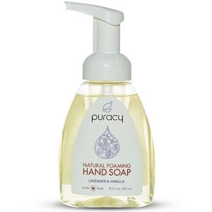 Пураси, Natural Foaming Hand Soap, Lavender & Vanilla, 8.5 fl oz (251 ml) отзывы
