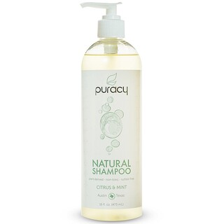 Puracy, Natural Shampoo, Citrus & Mint, 16 fl oz (473 ml)