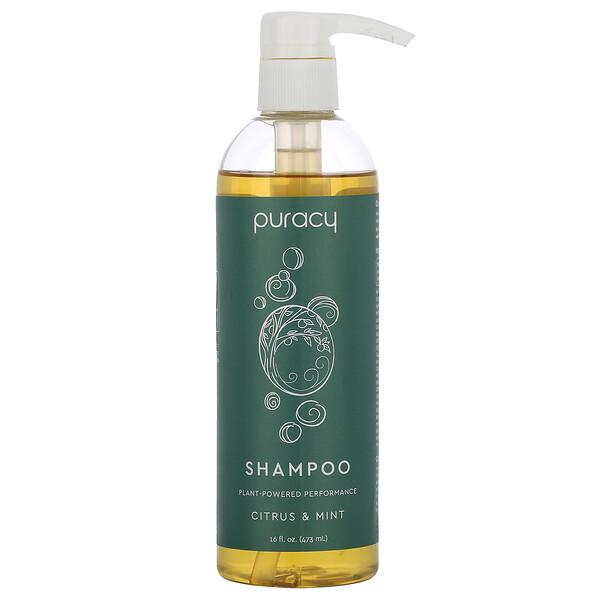 Natural Shampoo, Citrus & Mint, 16 fl oz (473 ml)