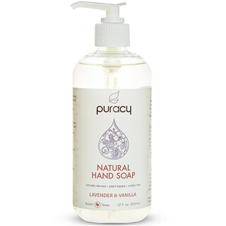 Puracy, Natural Hand Soap, Lavender & Vanilla, 12 fl oz (355 ml)