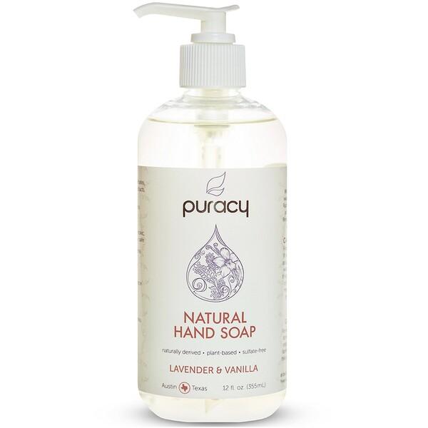 Puracy, Jabón de manos natural de 355 ml