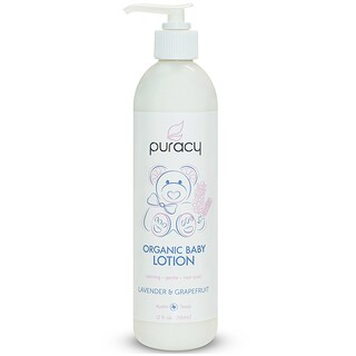 Puracy, Organic Baby Lotion, Lavender & Grapefruit, 12 fl oz (355 ml)