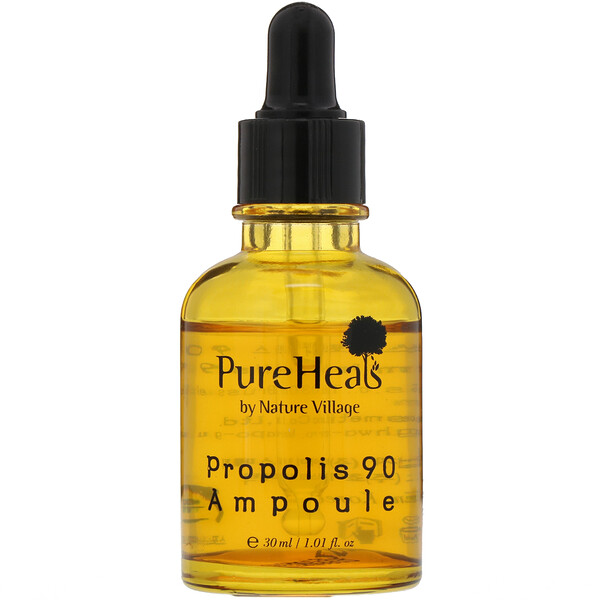 PureHeals, Propolis 90 Ampoule, 1.01 fl oz (30 ml)
